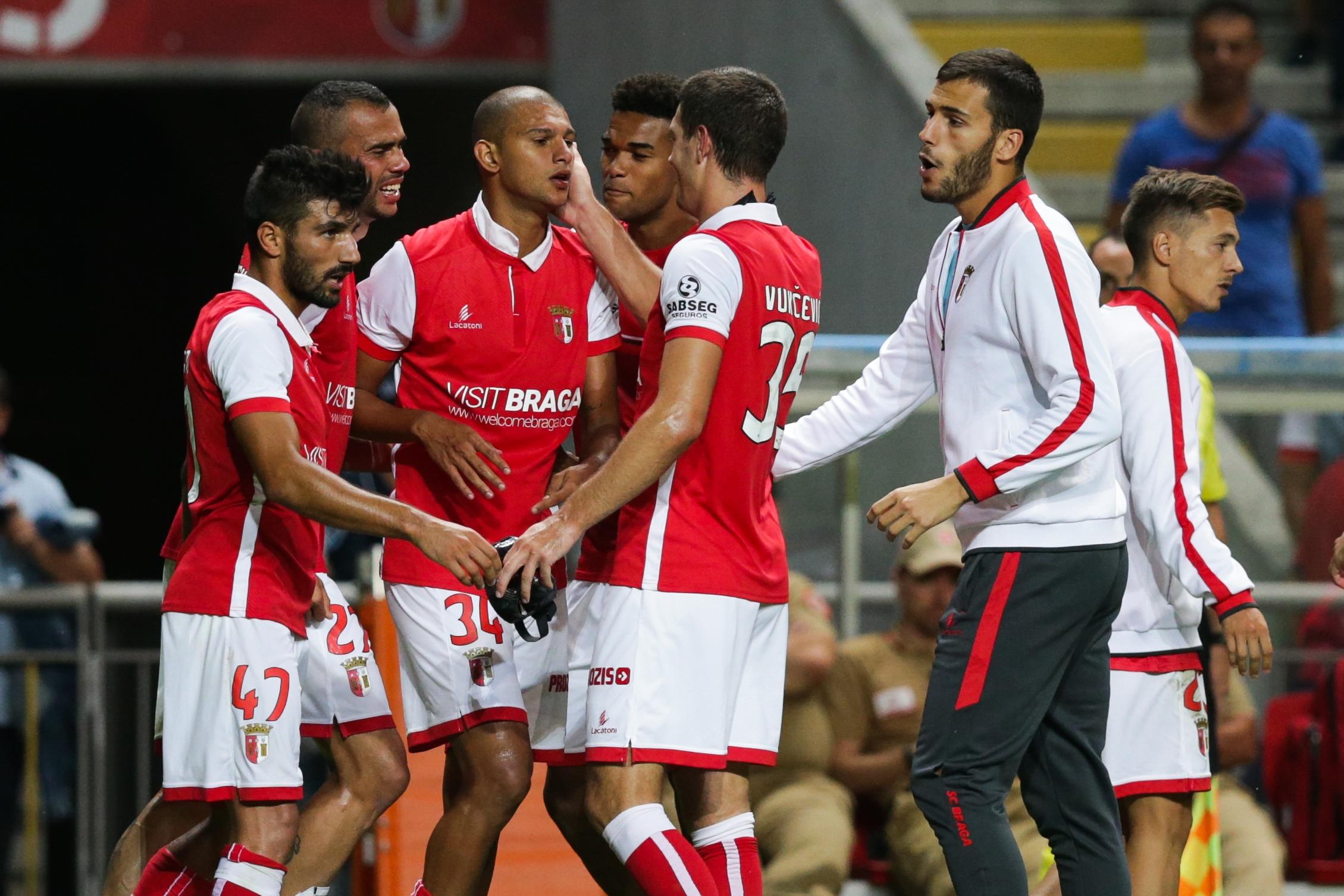 Sp. Braga: Esgaio e Raúl Silva convocados para defrontar Benfica