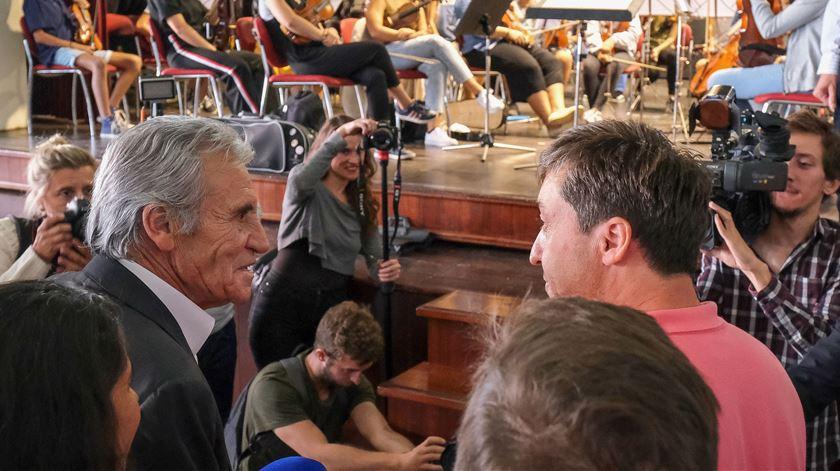"""Jerónimo deseja melhoras a Costa e confessa que também não está """"fresco como alface"""""""