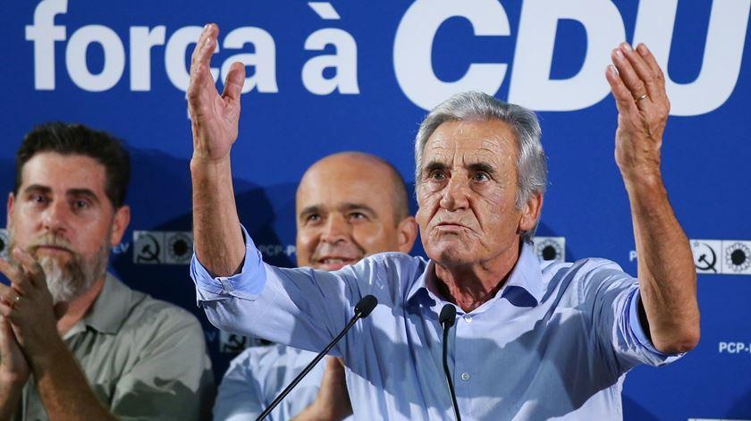 """Jerónimo diz que trabalho sempre ditou """"conflito e separação"""" entre esquerda e direita"""