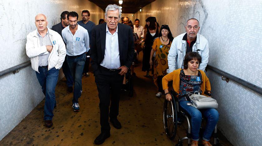 Jerónimo quer eliminar barreiras para cidadãos com deficiência nos transportes públicos