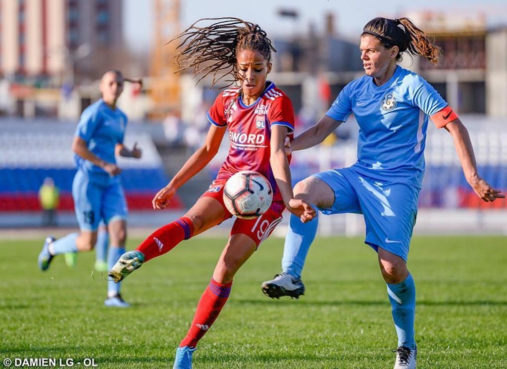 Jessica Silva esteve duas épocas no Lyon Foto: Olympique Lyonnais
