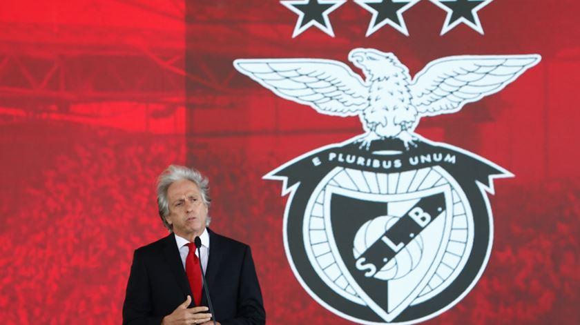 Benfica regressa ao trabalho com Jorge Jesus, Pedrinho e Gilberto