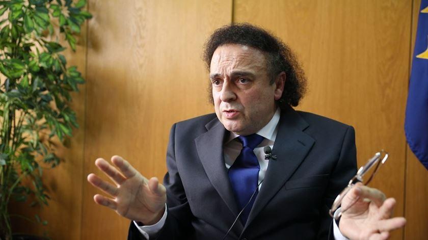 João Dias, da secção Sul do Sindicato Independente dos Médicos. Foto: Inês Rocha/RR.