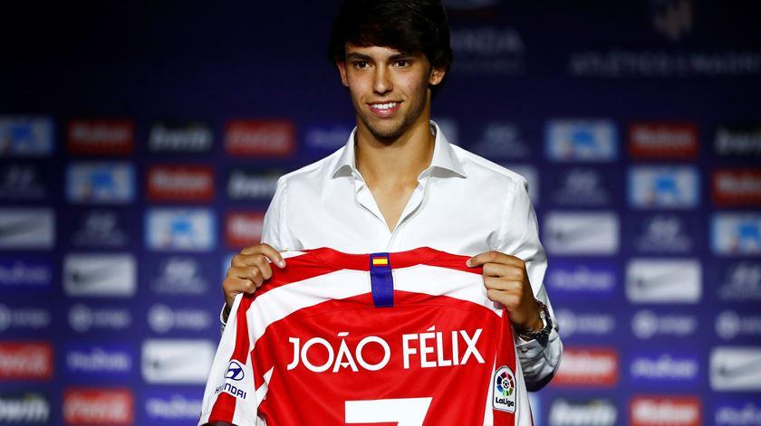 """Félix rejeita comparações. """"Estou aqui para ser lembrado como o João Félix"""""""