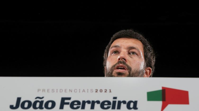 """João Ferreira candidato de Abril e não a """"percentagens eleitorais"""""""
