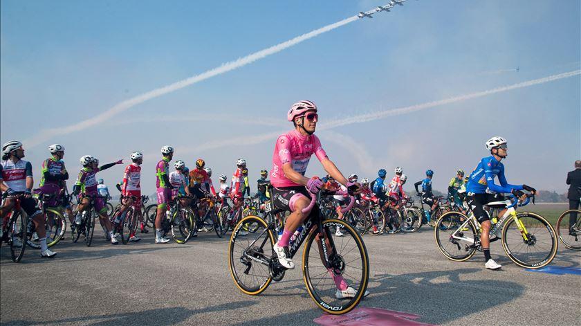 Ciclistas portugueses em boa forma para a Volta a Itália