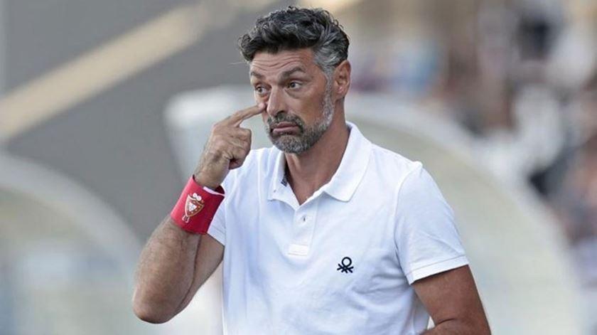 Treinador do Sertanense descontente com a realização do jogo em Coimbra