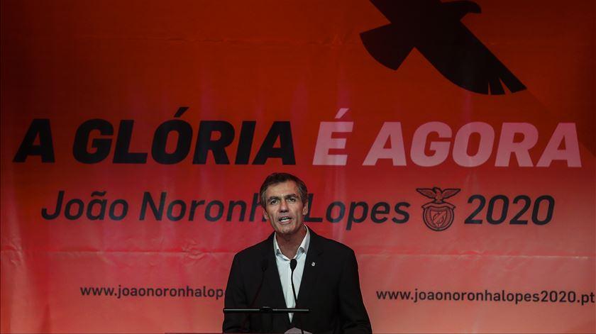Benfica. Conheça a lista que acompanha João Noronha Lopes