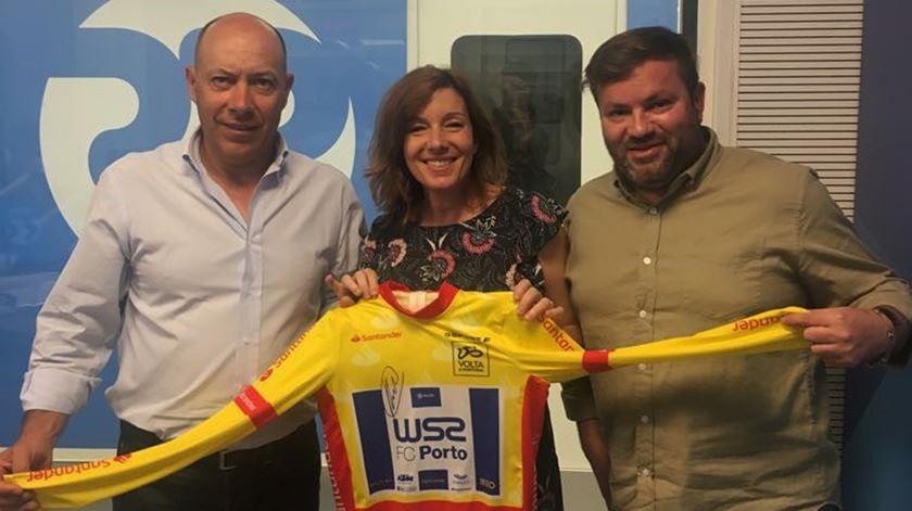 Depois da Volta, a camisola amarela visitou a Renascença