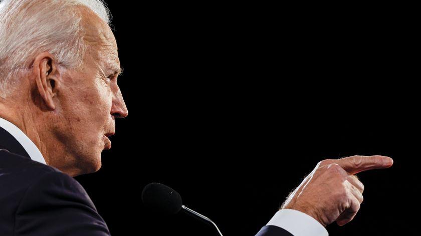 Ex-vice-presidente dos EUA aumenta tom das críticas com aproximar do dia da ida às urnas. Foto: Jim Bourg/EPA