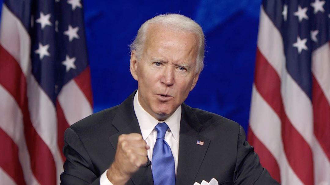 Joe Biden na convenção do Partido Democrata Foto: DNCC