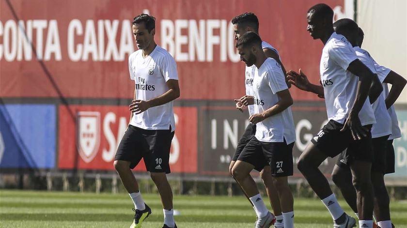 Jonas está a ser reintegrado. Foto: SL Benfica