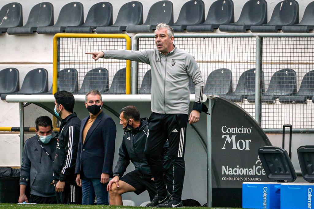 Jorge Costa, treinador do Sp. Farense. Foto: Luís Forra/Lusa