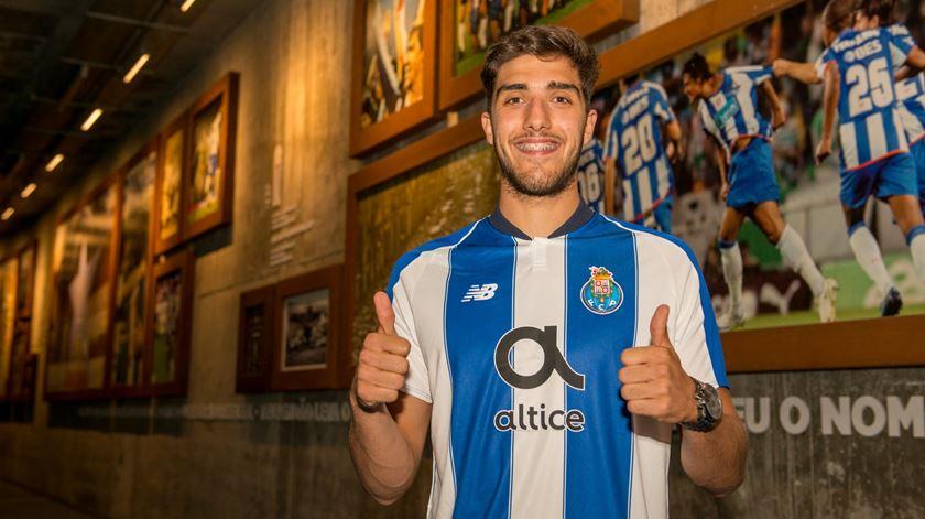 Jorge Fernandes tem contrato com o FC Porto até 2021. Foto: FC Porto