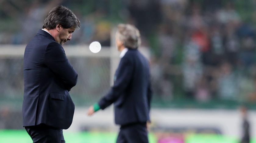 Bruno de Carvalho perde apoio de membros da sua direção. Foto: Manuel de Almeida/Lusa