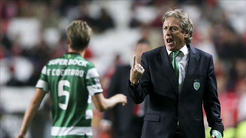Jorge Jesus, treinador do Sporting. Foto: Miguel A. Lopes/Lusa