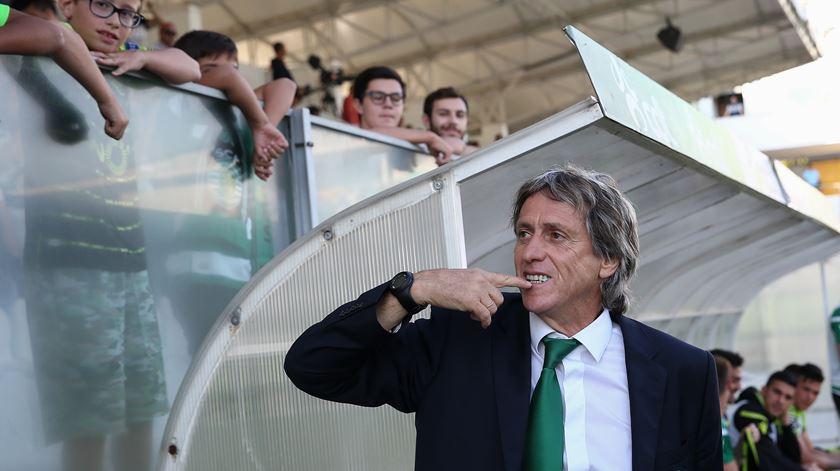 """Jesus não pensa no AC Milan. """"Objectivo é tentar que o Sporting seja campeão"""""""