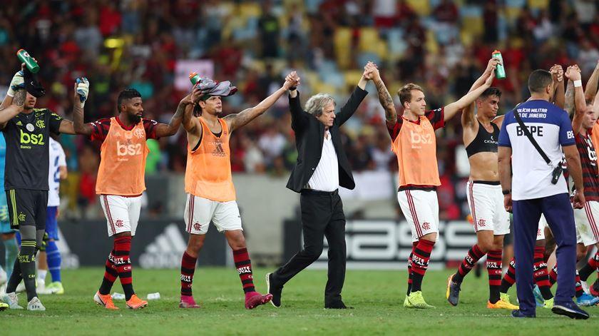 Flamengo quer renovar com Jesus, mas ainda não arrancaram as conversações