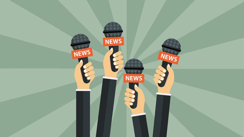 """Jornalistas orientaram comportamentos e """"contribuíram para sucesso do combate à pandemia"""""""