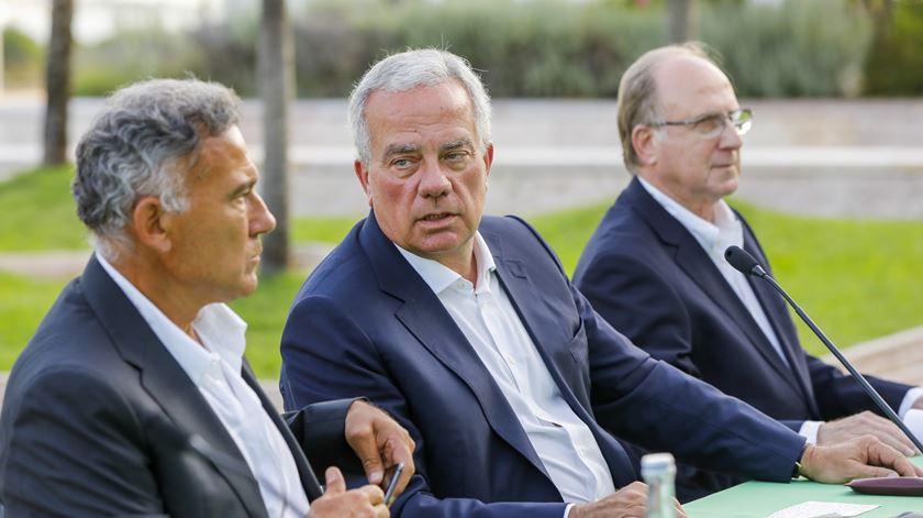 José Eduardo será o responsável pelo futebol, caso Ricciardi seja eleito. Peseiro será o treinador. Foto: João Relvas/Lusa
