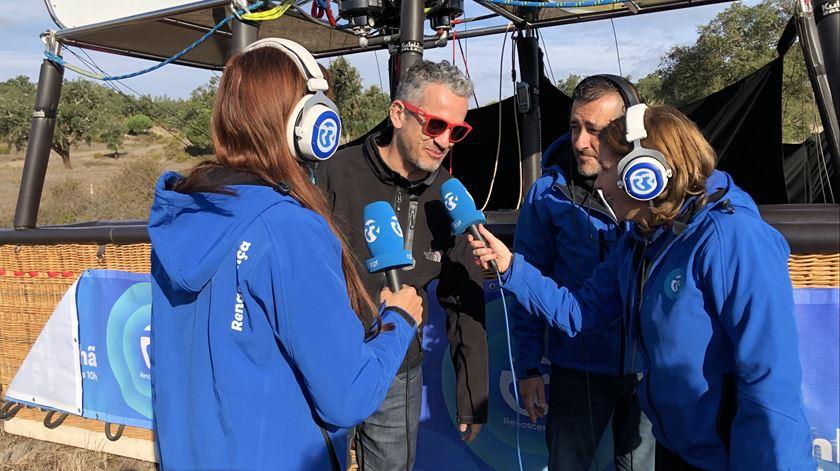 José Luís Peixoto e Ana Galvão Foto:Windpassenger