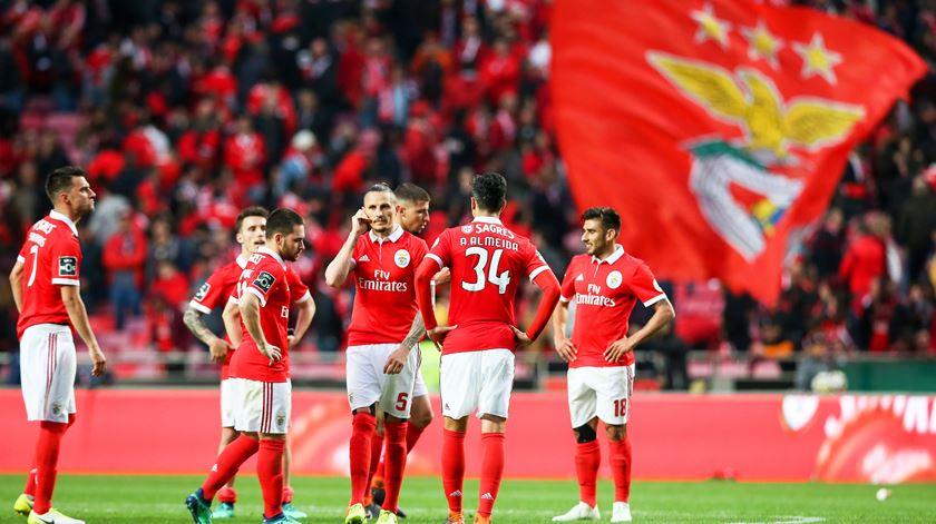 Benfica perdeu liderança com o FC Porto. Foto: José Sena Goulão/EPA