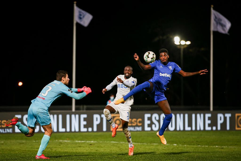 Kritciuk descreve lance com Nanu, que resultou na lesão do jogador do FC Porto Foto: José Sena Goulão/Lusa