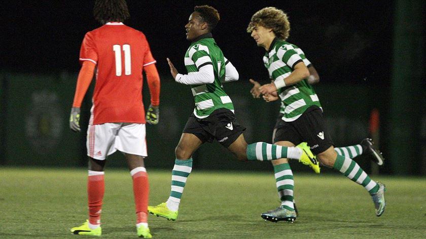 Jovane já resolveu um dérbi de juniores (1-0) na época passada. Foto. Sporting CP