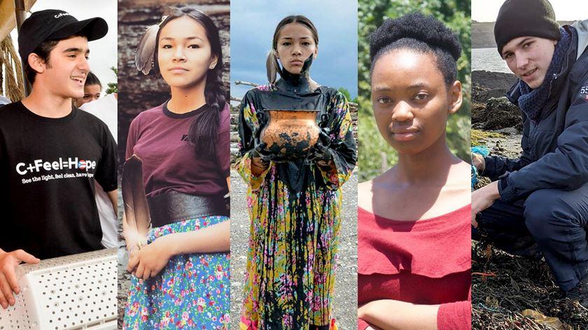Greta não está sozinha em Davos. Conheça outros cinco jovens ativistas no Fórum Económico Mundial