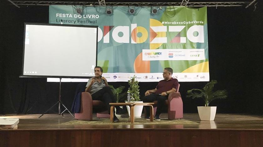 Júlio Magalhães é um dos autores convidados do festival literário. Foto: Festival Morabeza (Facebook)
