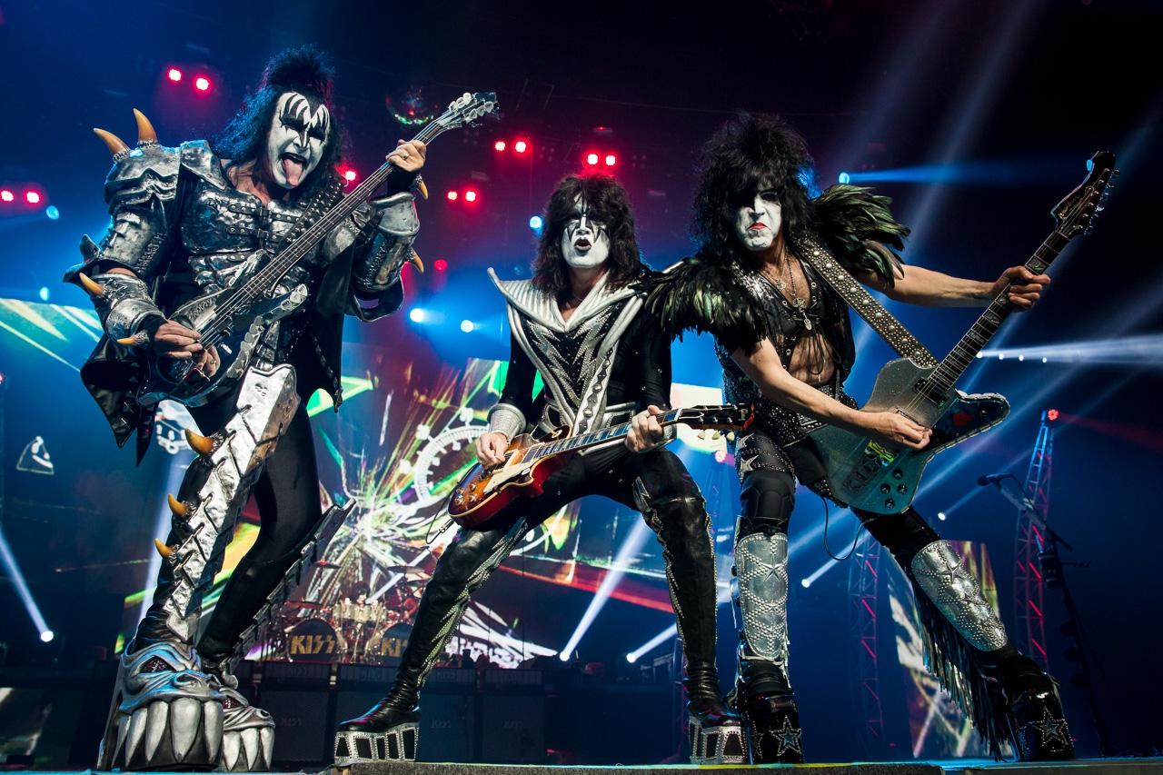 Kiss, Megadeth e Scorpions em Oeiras