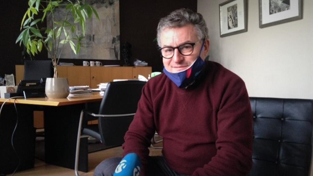 Koen Van den Heuvel, presidente da Câmara de Puurs. Foto: Vasco Gandra/RR