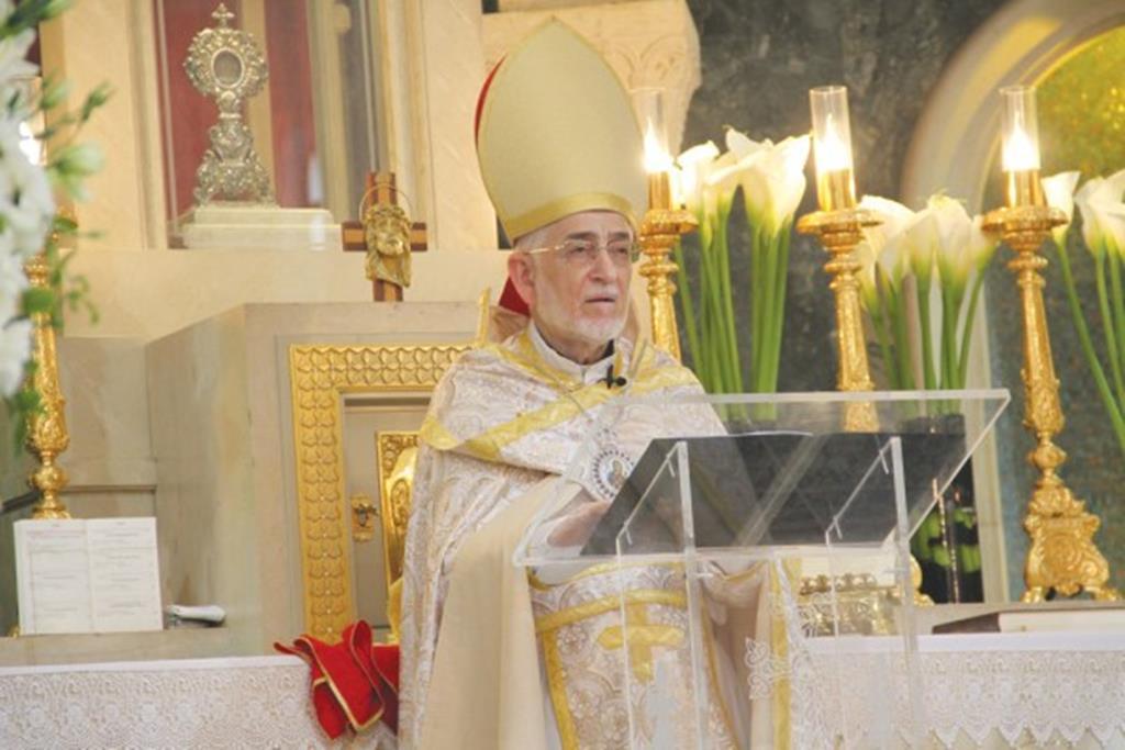 Gregório Pedro XX, Patriarca da Cilícia dos Arménios Católicos. Foto: Patriarcado da Cilícia