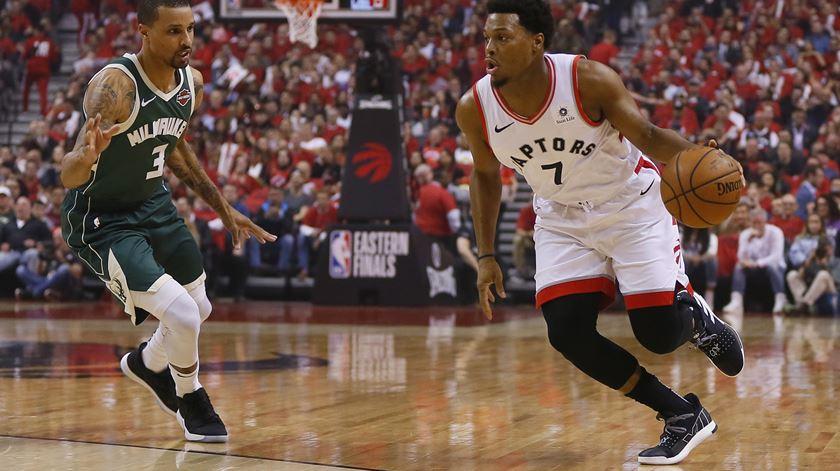 Raptors empatam Bucks na final do Este da NBA