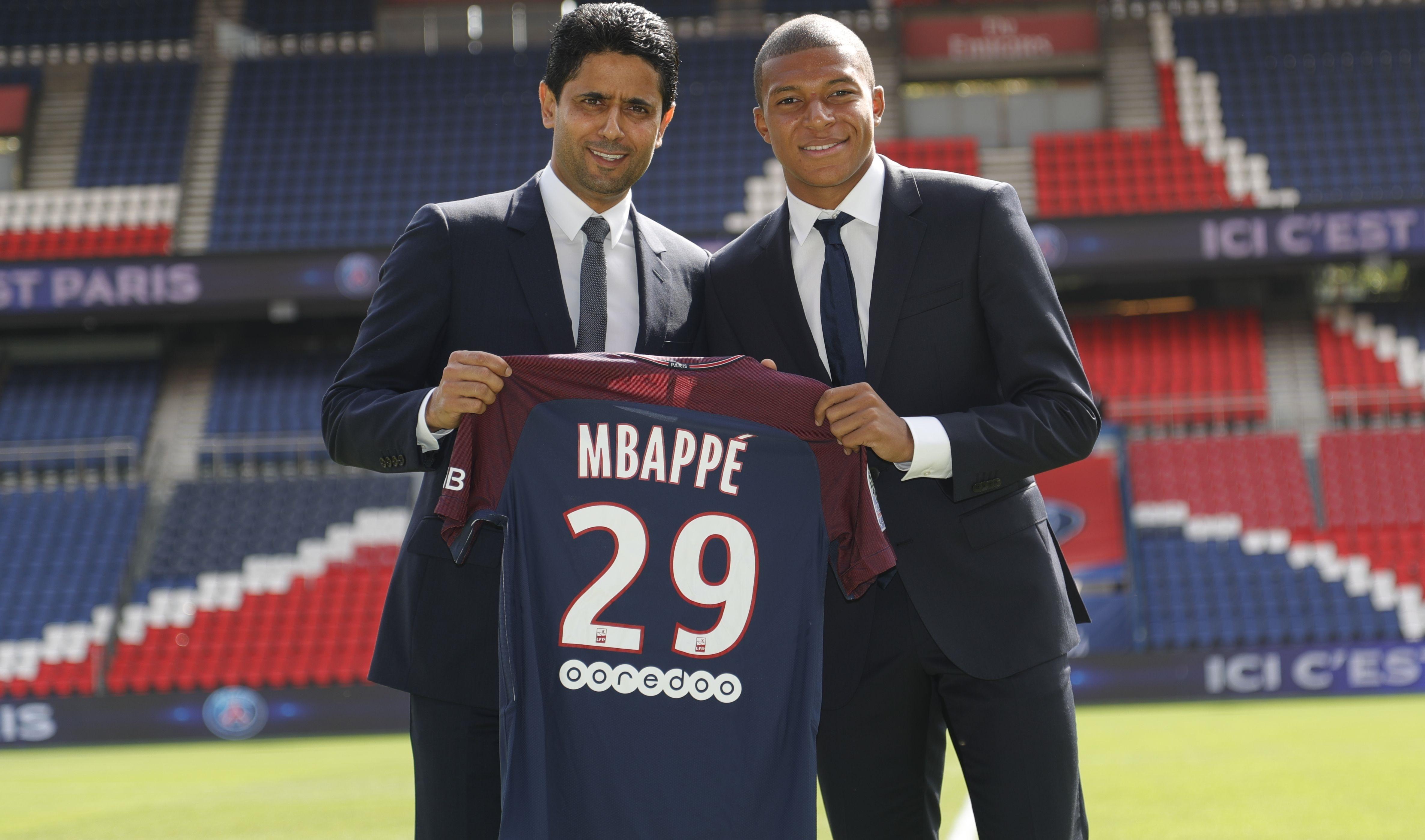 Mbappé se derrete por Neymar.