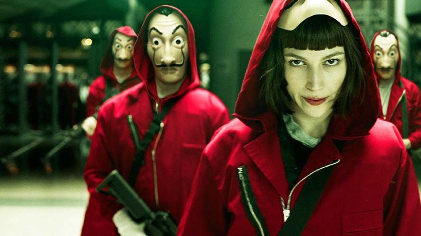 """""""La Casa de Papel"""", uma das sérias mais famosas da Netflix"""