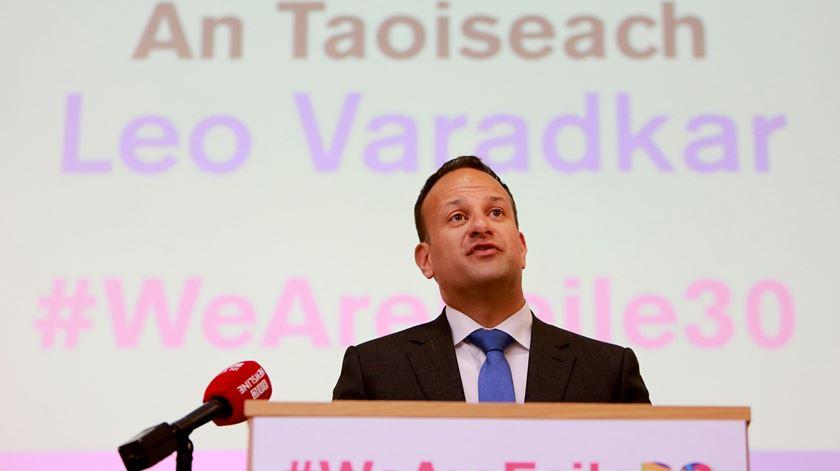 Leo Varadkar, primeiro-ministro da Irlanda. Foto: Paul McErlene/EPA