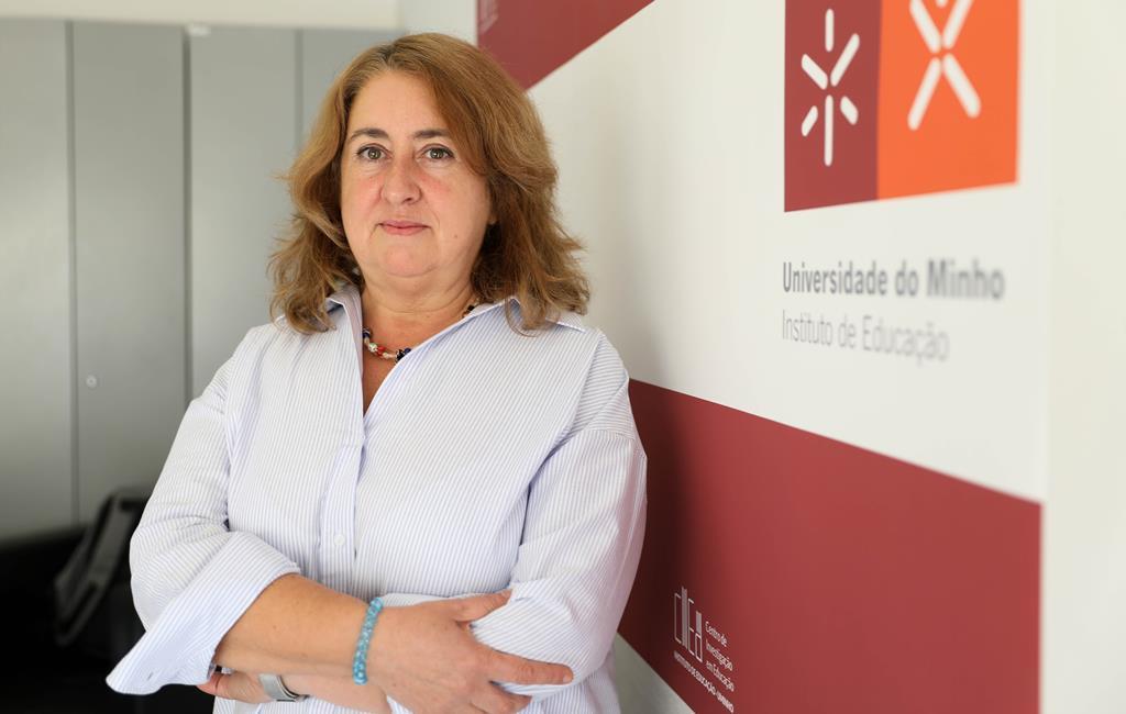 Leonor Lima Torres, investigadora no Departamento de Ciências Sociais da Educação da Universidade do Minho. Foto: Inês Rocha/RR
