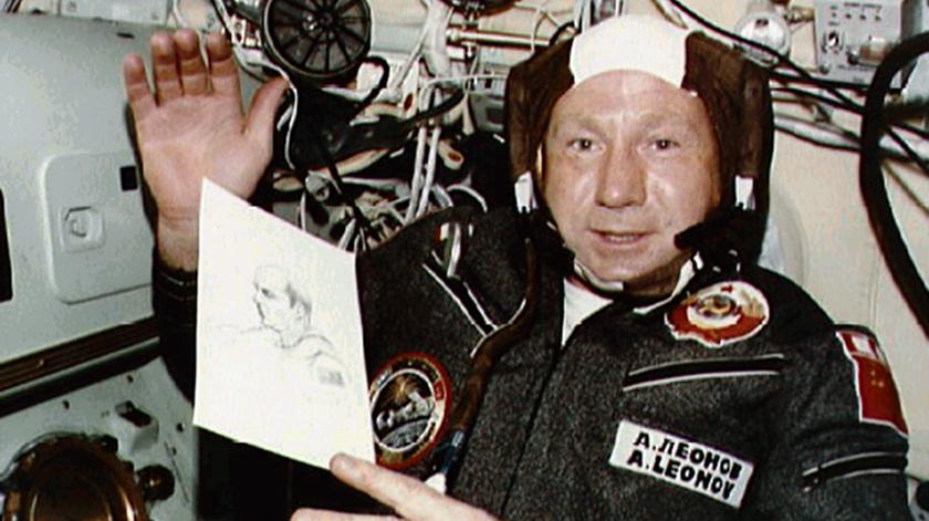 Alexei Leonov. Foto: NASA