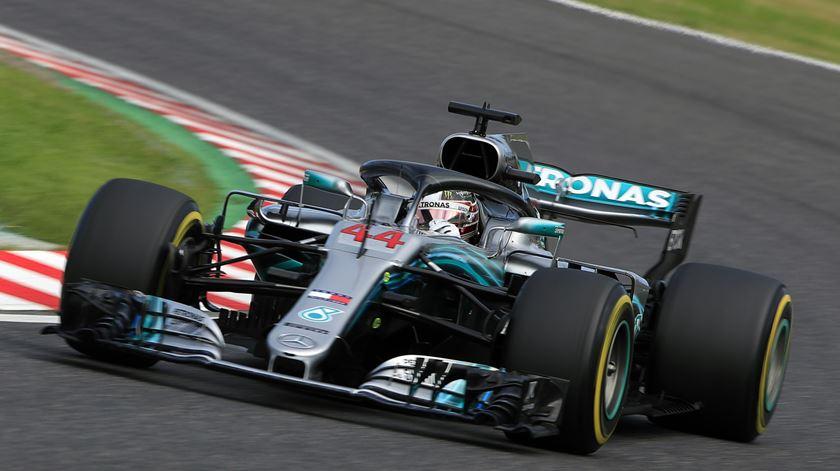 F1. Lewis Hamilton foi o mais rápido em Suzuka