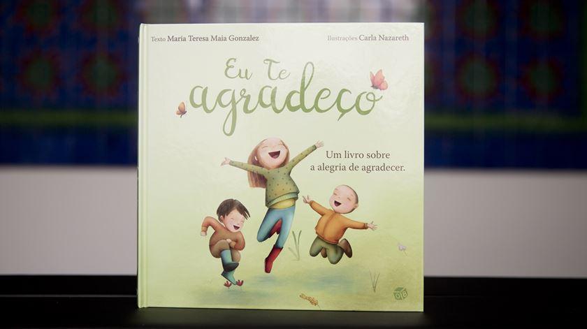 """""""Eu te Agradeço"""" é o novo livro de Maria Teresa Maia Gonzalez"""