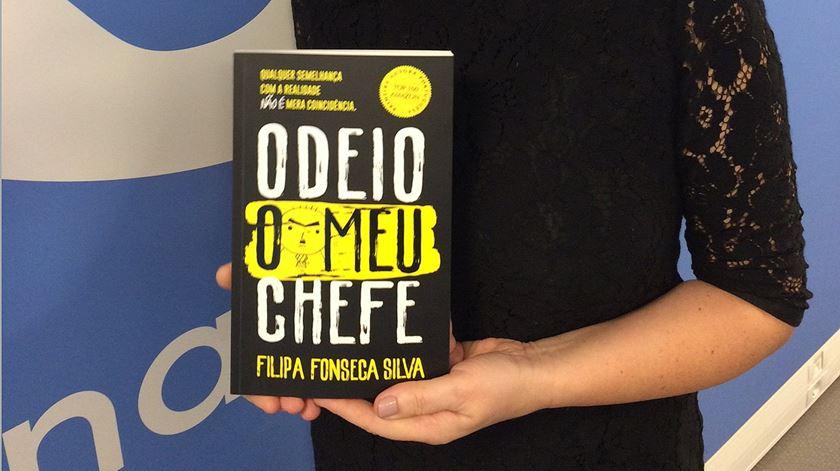 """Filipa Fonseca Silva é a autora do livro """"Odeio o Meu Chefe"""" e esteve na Manhã da Renascença"""