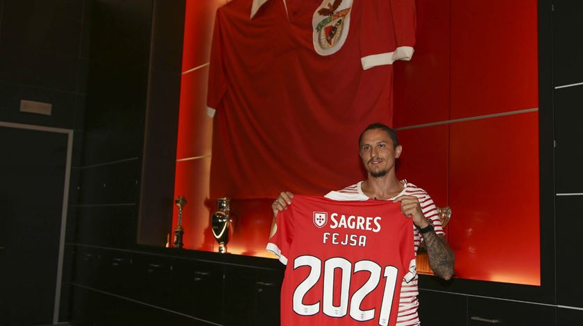 Fejsa renovou até 2021. Foto: SL Benfica