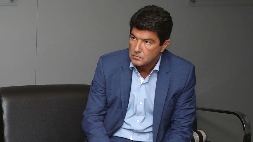 Luís Bernardo é o diretor de comunicação do Benfica. Foto: SL Benfica
