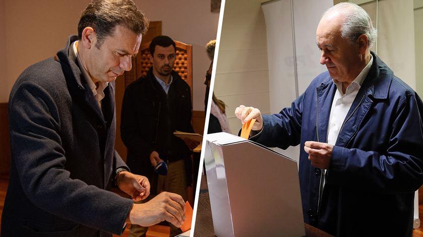 Rio confiante, Montenegro tranquilo. Candidatos à liderança do PSD já votaram