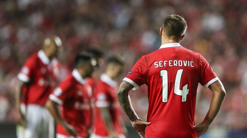O relato da estreia azeda do Benfica na Champions