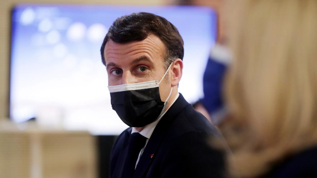 Emmanuel Macron, Presidente de França. Foto: Christophe Petit-Tesson/EPA