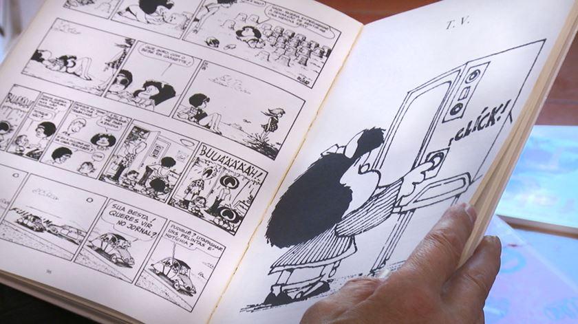 """Mafalda. A miúda """"insubmissa e contestatária"""" de Quino"""