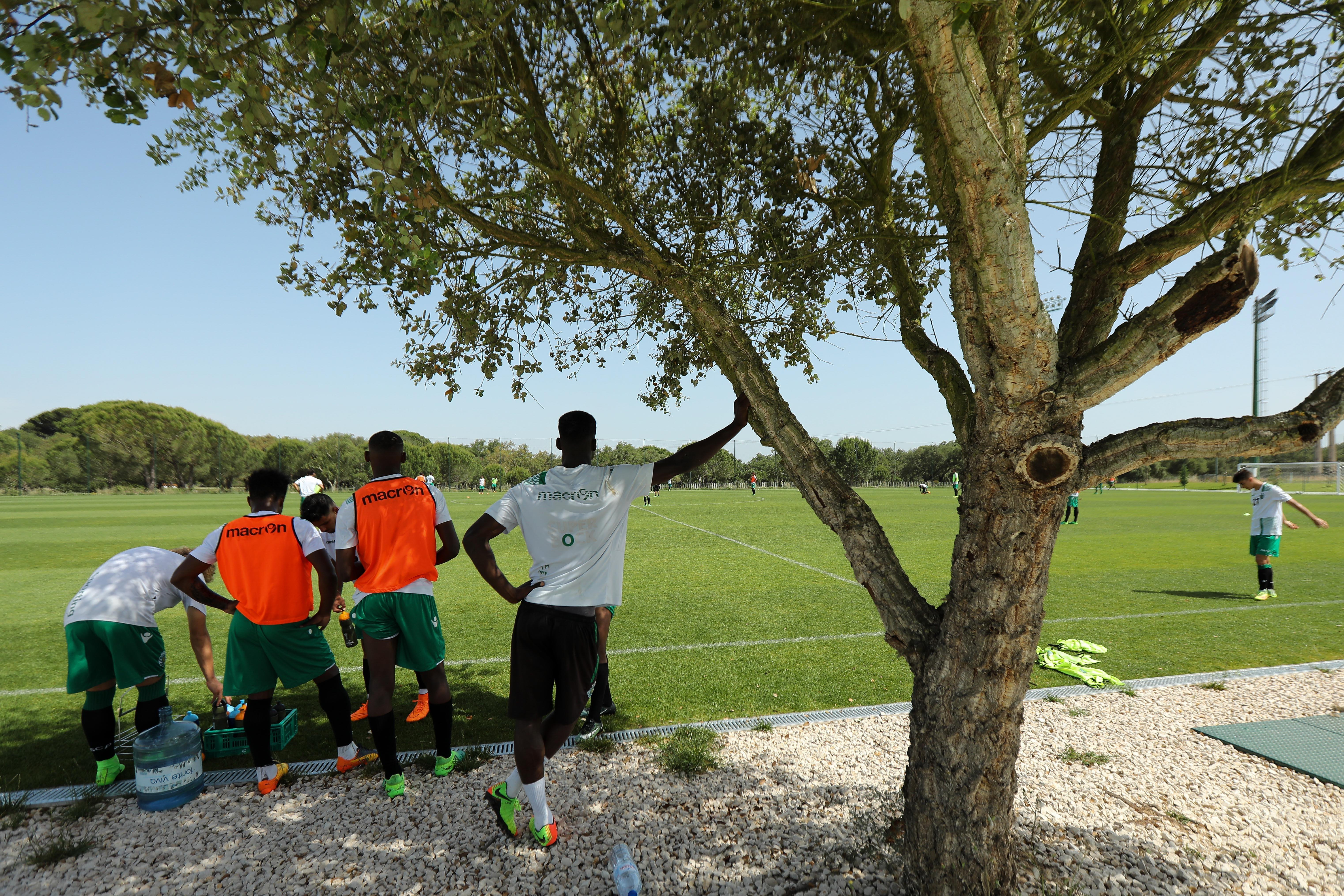 Doumbia já treinou em Alcochete