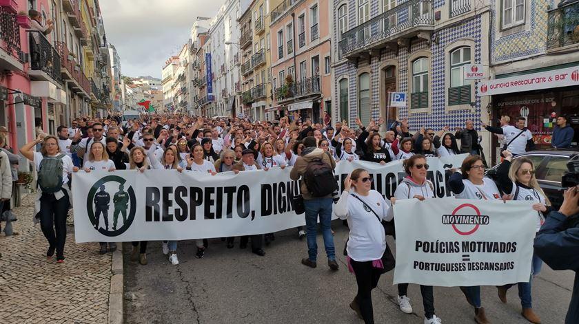 Sindicatos das polícias sem acordo com o Governo. Protesto de janeiro continua marcado